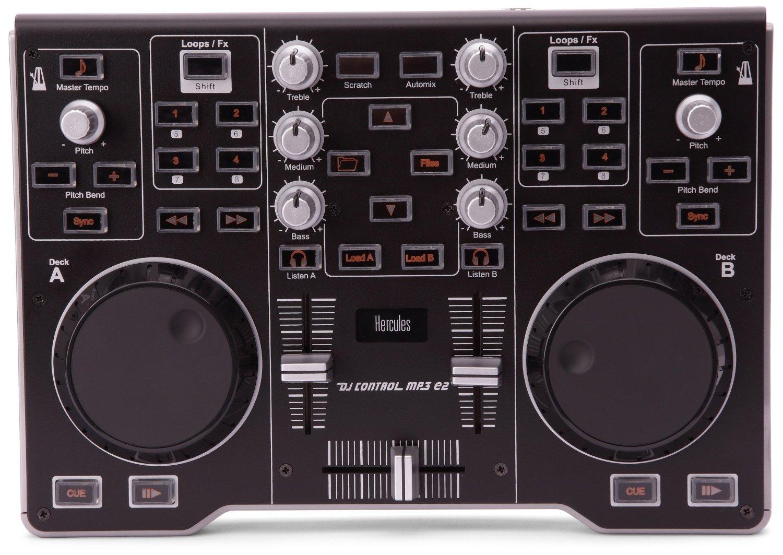 Control powersdr with the hercules dj control mp3 e2 | ham radio.