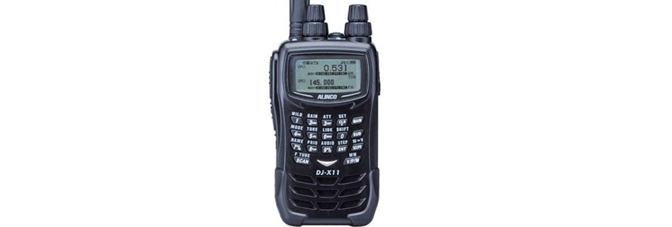 Alinco DJ-X11 Update   Ham Radio Science