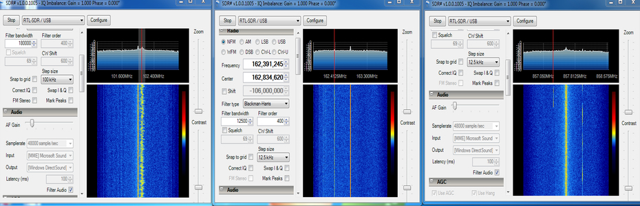 Using Multiple RTL2832U Sticks for SDR | Ham Radio Science