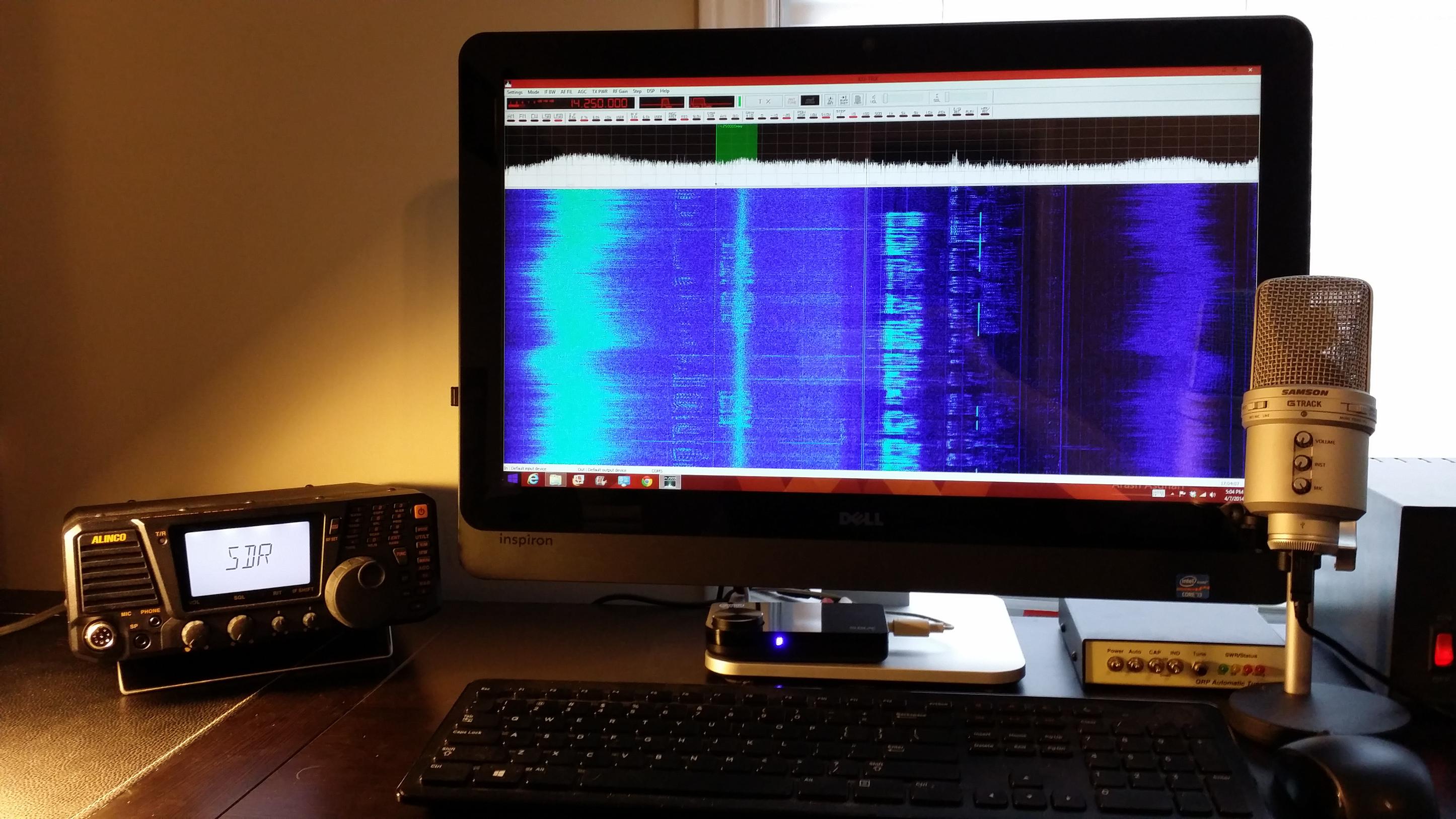 Alinco DX-SR9 Hybrid SDR Transceiver Review   Ham Radio