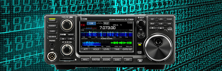 Icom 7300 Review | Ham Radio Science