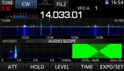 Mini Scope with Audio FFT and Ocilloscope